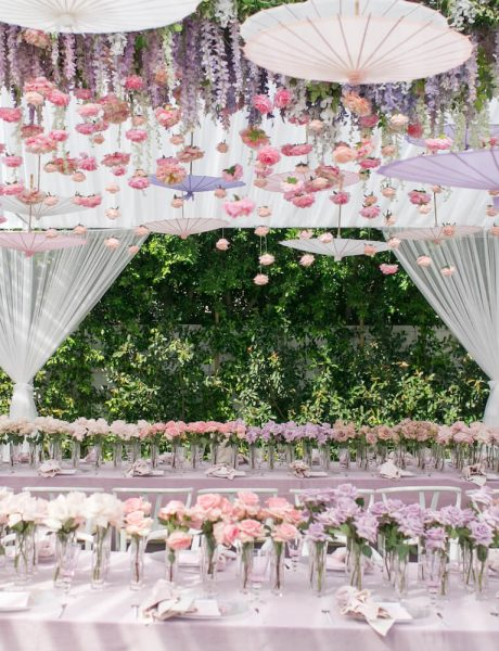 Dreamy Pink and Lavender Baby Shower by A Good Affair