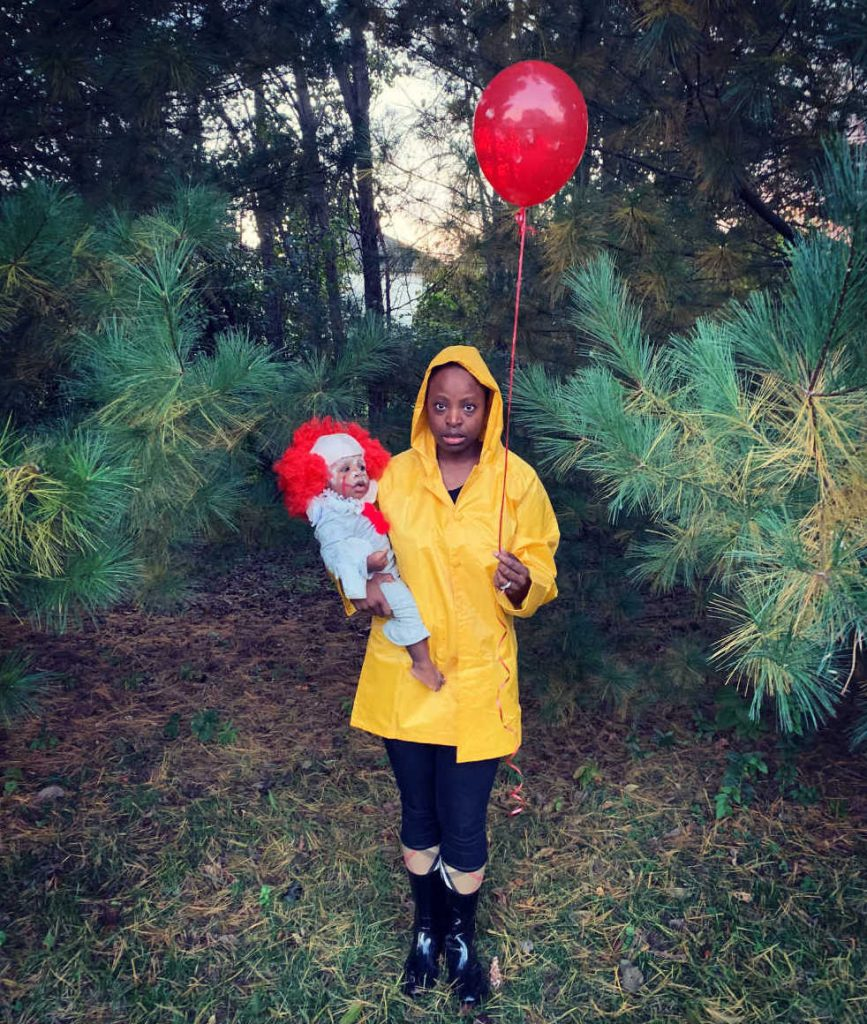 Pennywise and Georgie Halloween Costume