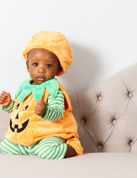 Pumpkin Halloween Costume for Babies