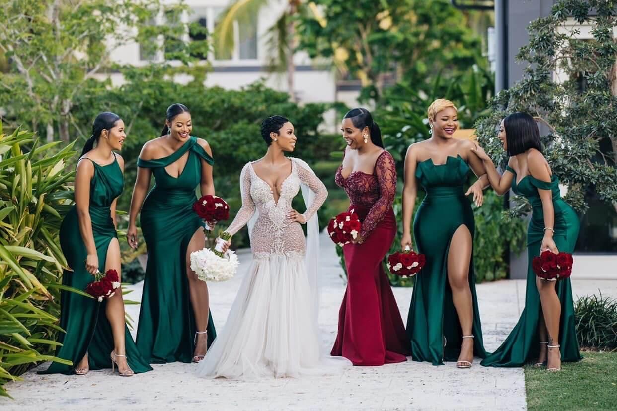 Jewel Tone Bridesmaids Dress