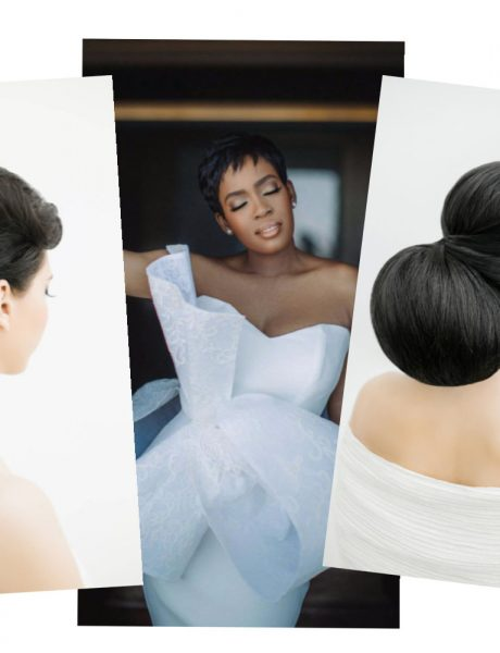 Bridal Hair Inspiration for Wedding