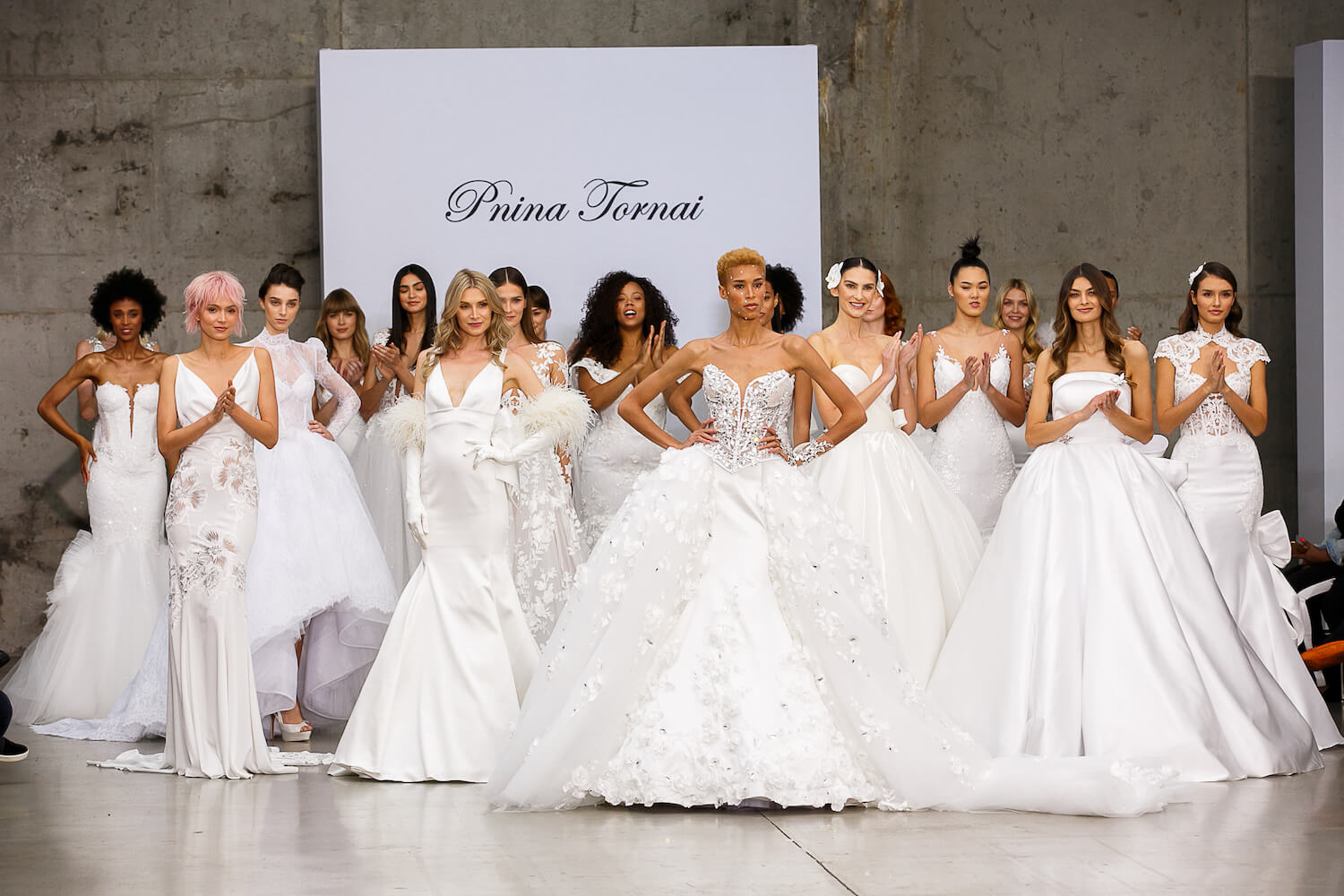 Pnina Tornai Real Wedding Dress Collection From Nybfw 2020 Perfete