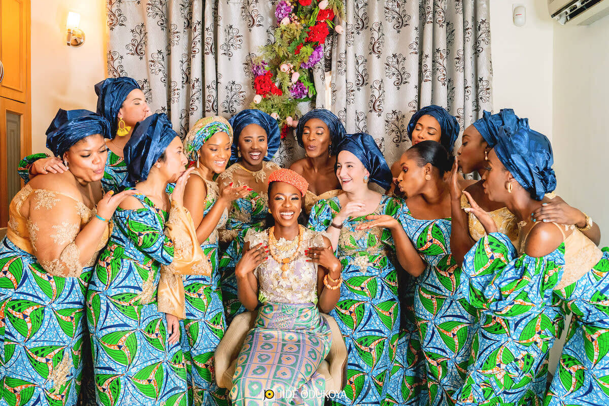 Nigerian weddings are always a huge fave #onPerfete for so many reasons; I mean do you see this traditional Ijaw wedding? For starters, there's such vibrance in our cultures that it's hard not to swoon