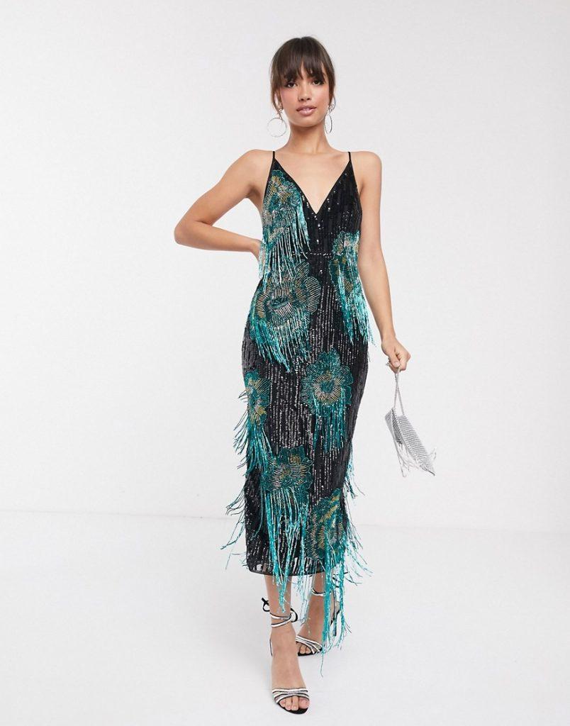 ASOS Cami sequin dress