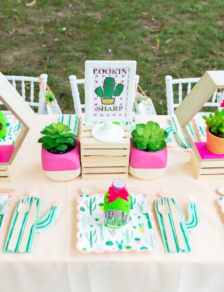 Keeping our Creative Minds Active with this Cactus Succulent Themed Party Inspiration-13