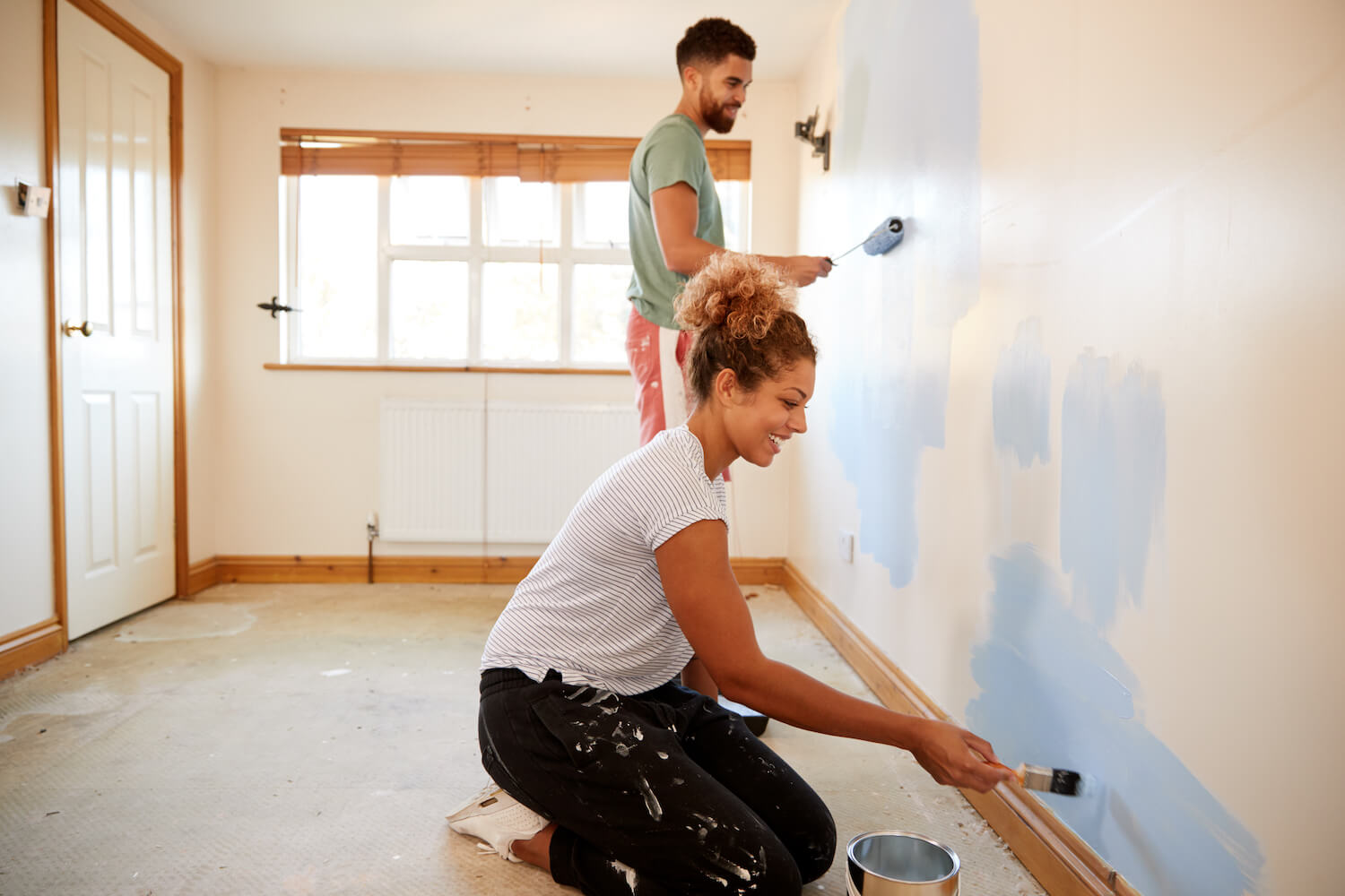 home painting date night