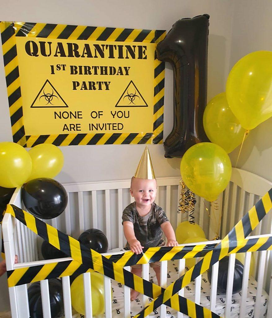 Quarantine Kids birthday party ideas