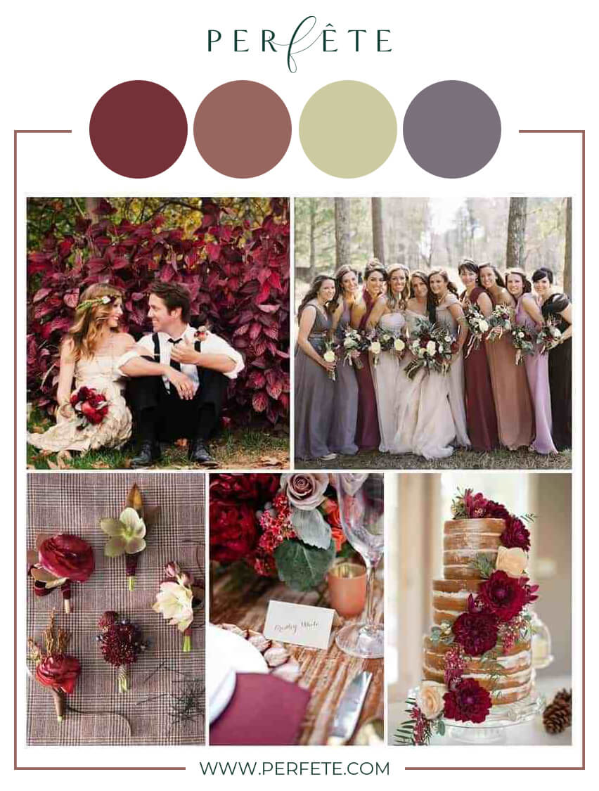10 Fall Wedding Color Ideas To Consider Perfete