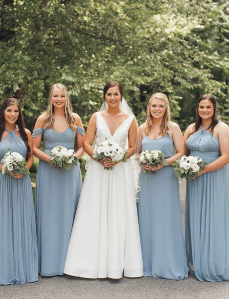 Charming Outdoor Arkansas Wedding with Pale Blue Details-25